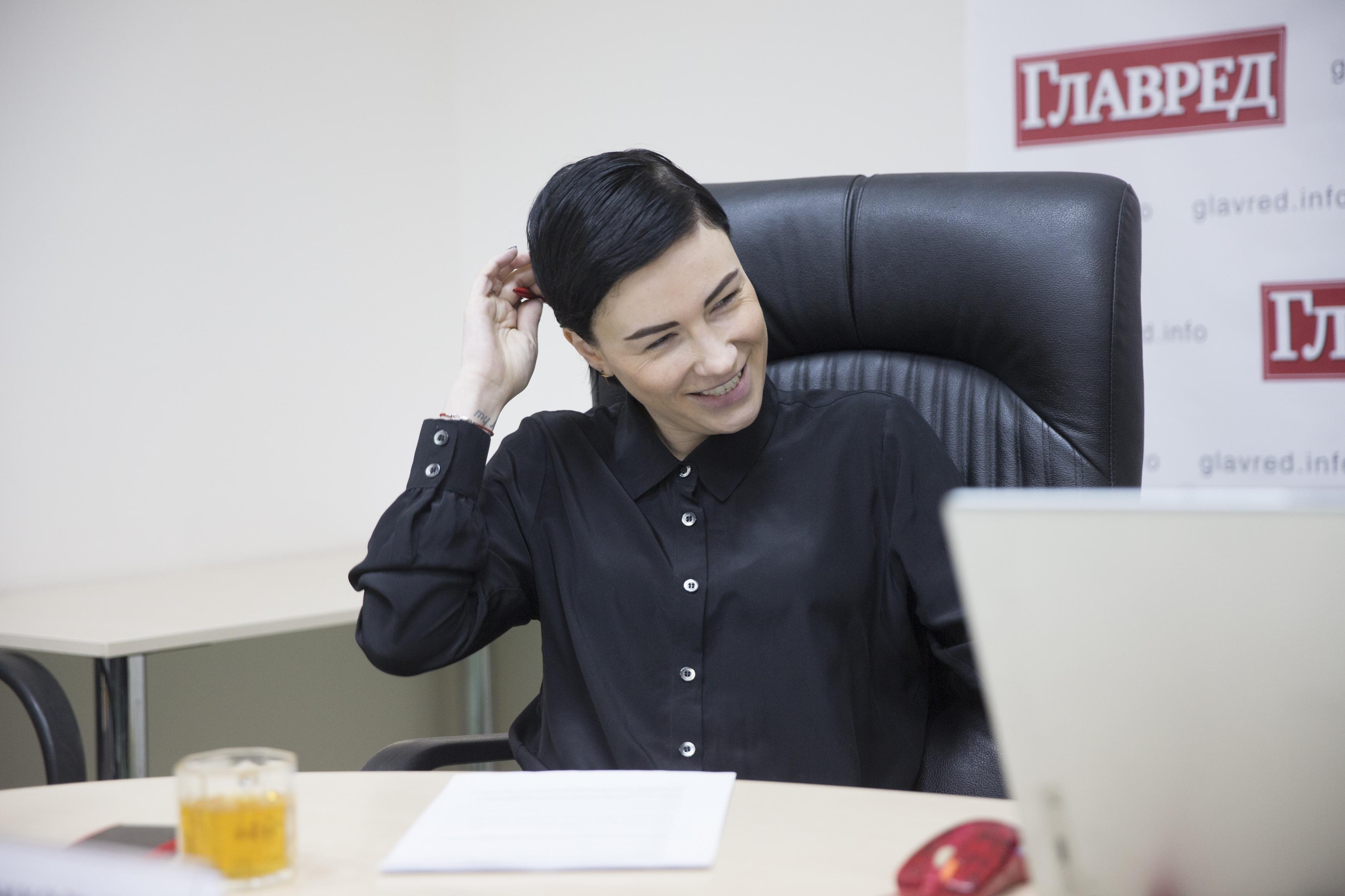 Я не работаю с Российской Федерацией, отметила Анастасия Приходько