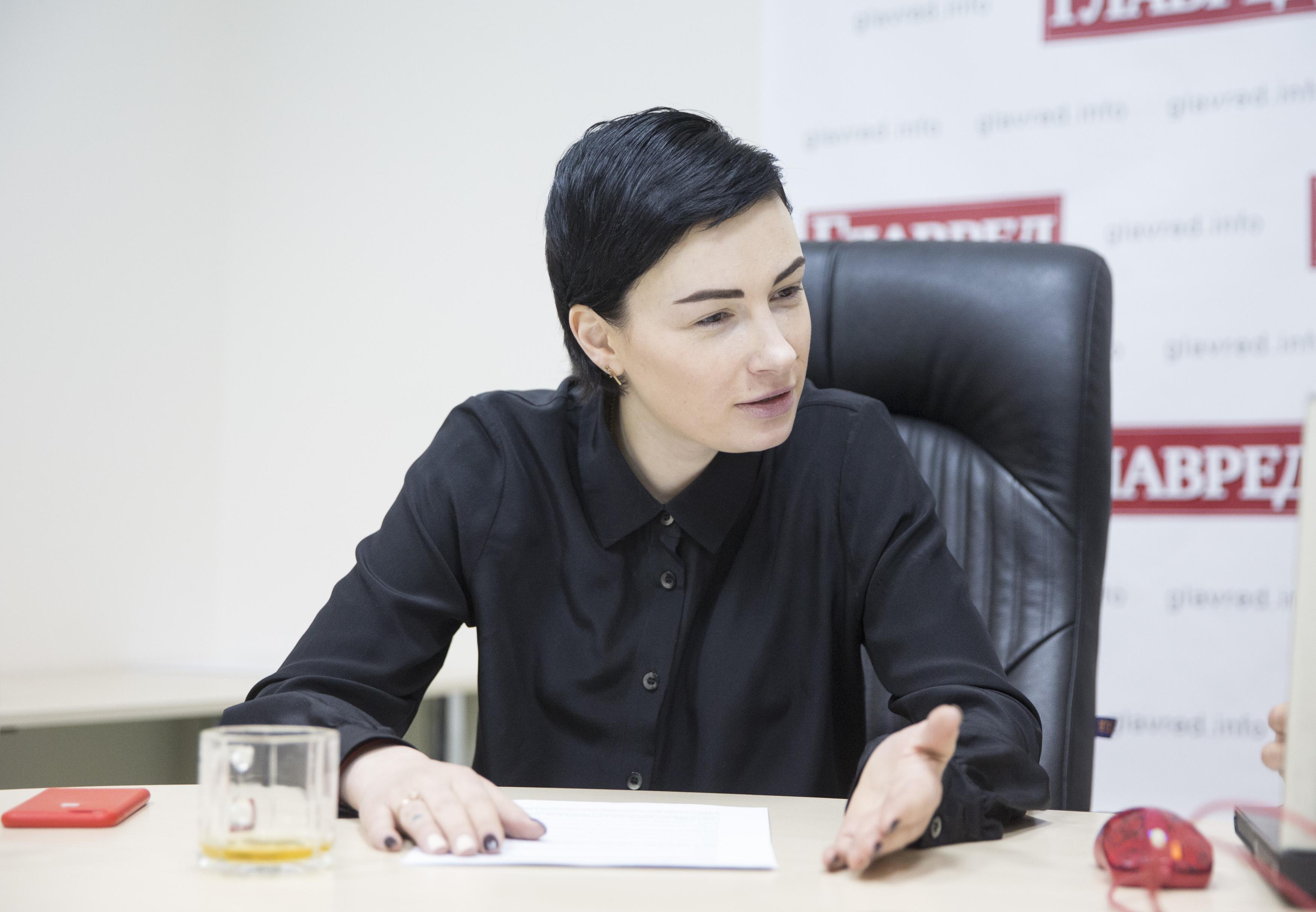 Россия является недогосударством, биомассой какой-то, считает Анастасия Приходько