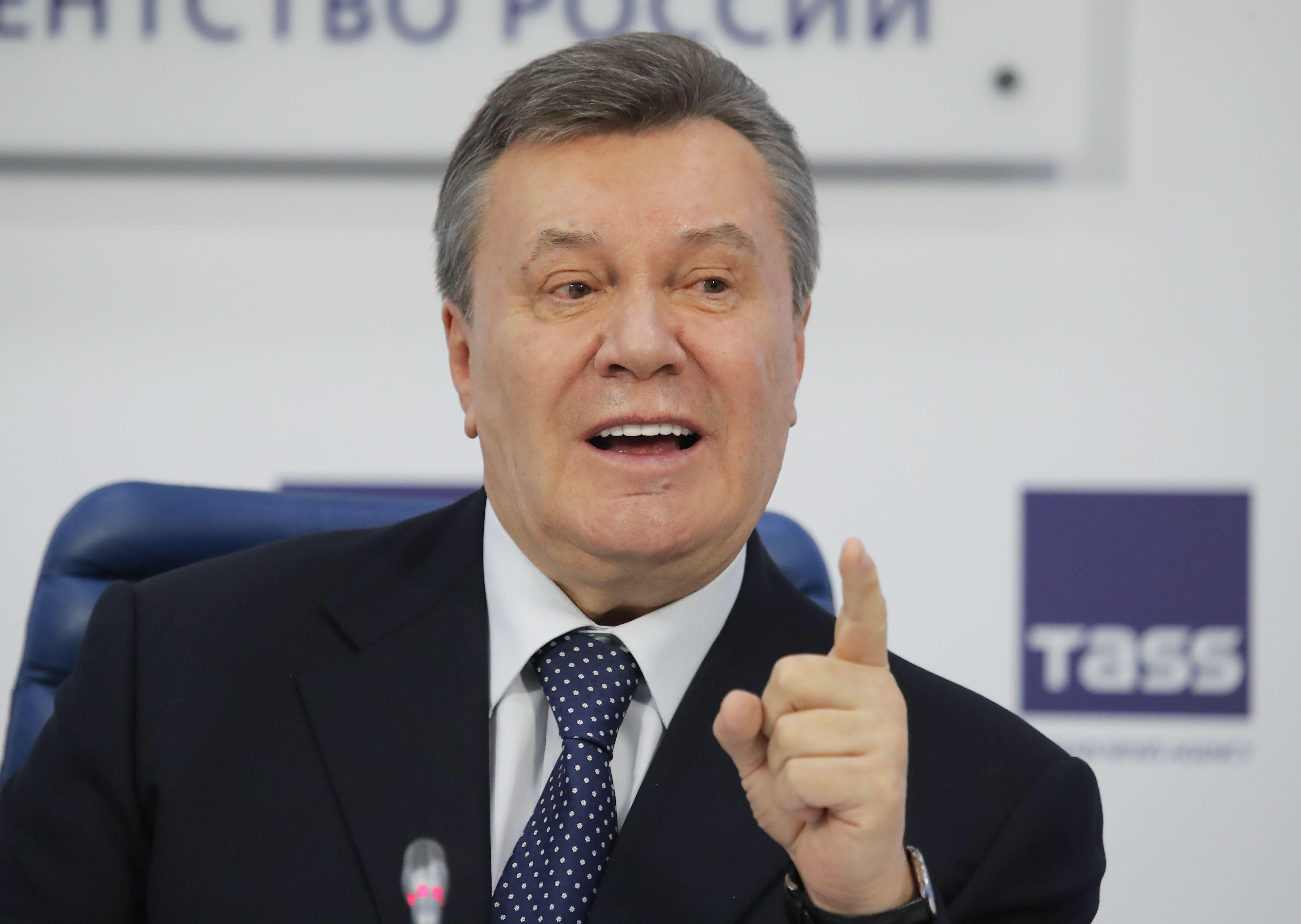 Беглец Янукович дал очередную пресс-конференцию