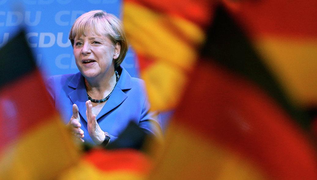 Ангела Меркель сообщила, что Россия создает внутренние конфликты в постсоветских странах