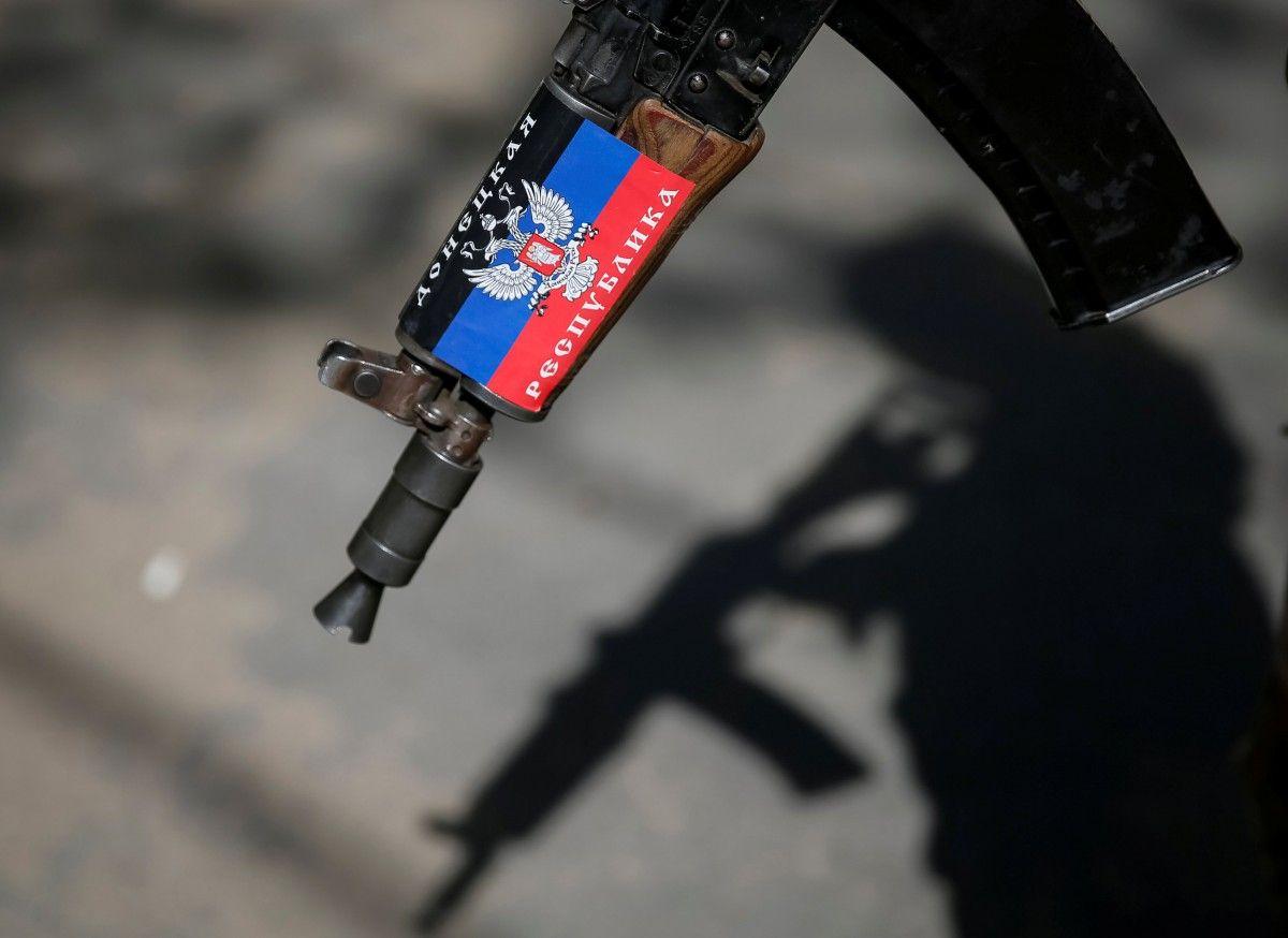Автомат боевика ДНР