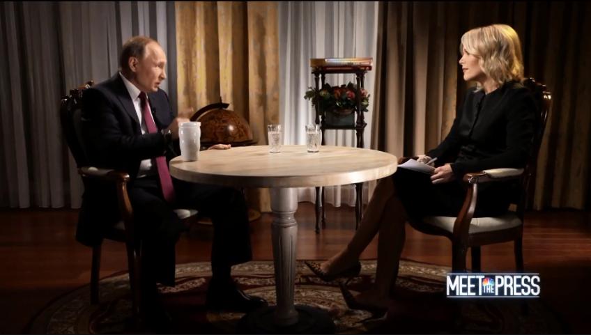На вопрос журналистки об экстрадиции хакеров Путин ответил категорично