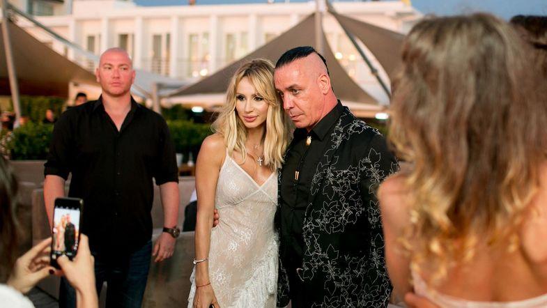 Светлана Лобода и Тилль Линдеманн на фестивале