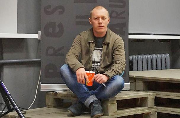 Крымский активист Михаил Батрак
