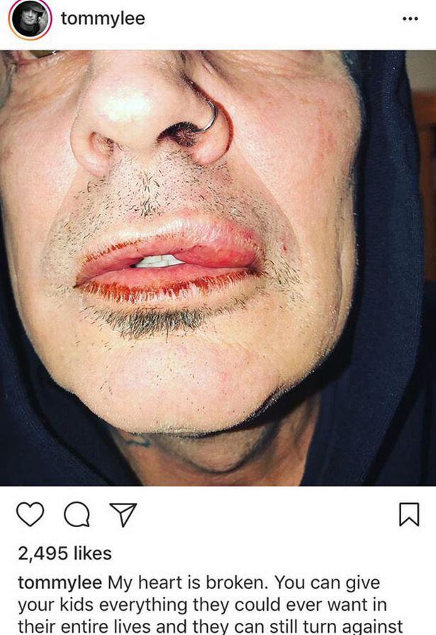 Ли выложил в Instagram результат встречи с сыном