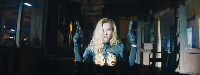 Юлия Александрова сыграла суперженщину