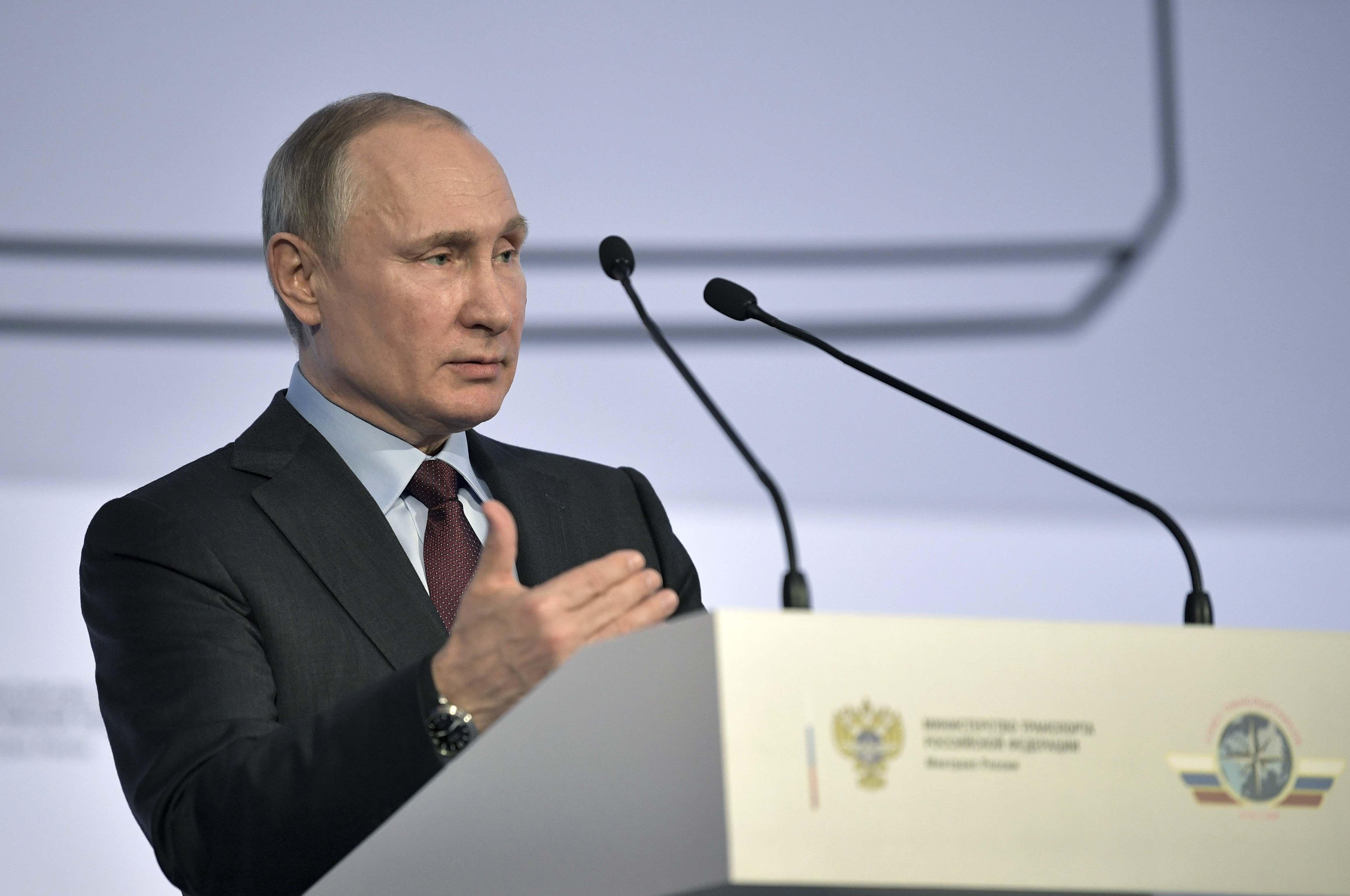 Владимир Путин назвал cвоим маяком интересы России