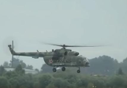 В Чечне после крушения вертолета выжил один человек