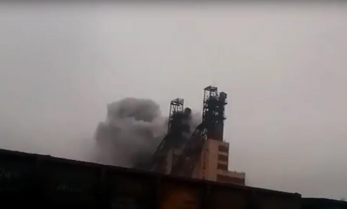 На шахте под Запорожьем в результате возгорания пострадали люди