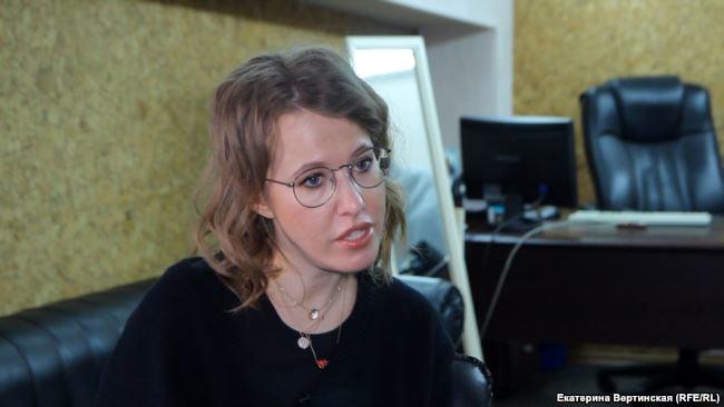 Собчак утверждает, что официально просила украинское посольство о разрешении на поездку в Крым