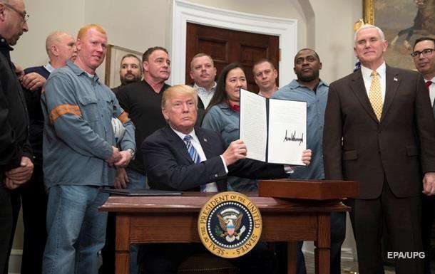 Дональд Трамп поставил подпись под указом о пошлинах