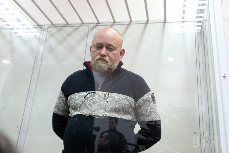 Владимир Рубан в зале суда