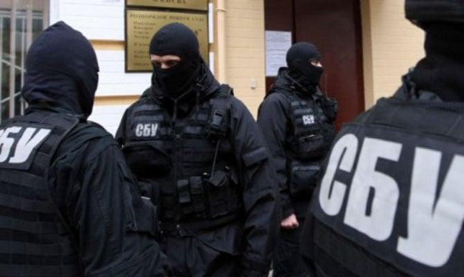 Бойцы спецназа СБУ