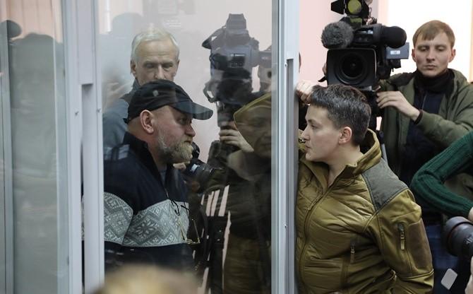 По сведениям СМИ, Савченко обсуждала с представителями