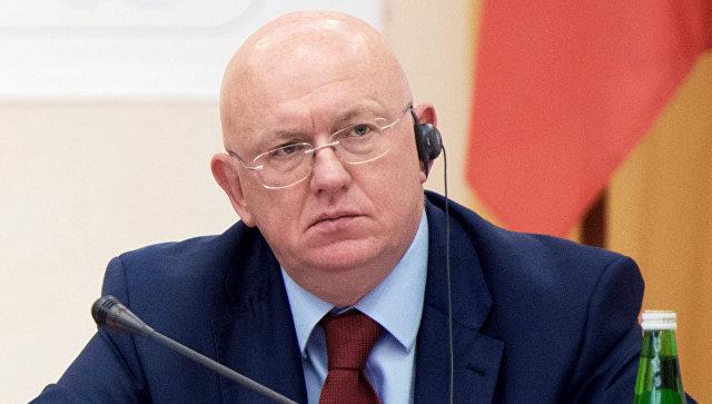 Василий Небензя обвинил Британию в пропагандизме.
