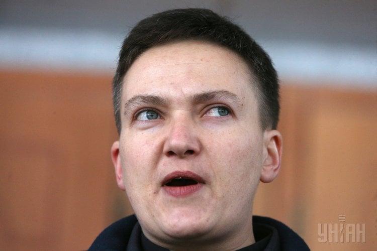 Надежда Савченко сказала, что была в парламенте с наградным оружием