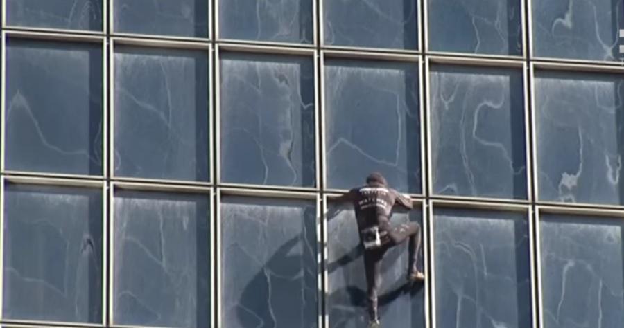 Ален Робер покорил очередной небоскреб