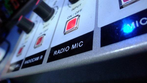 Пульт на радиостанции