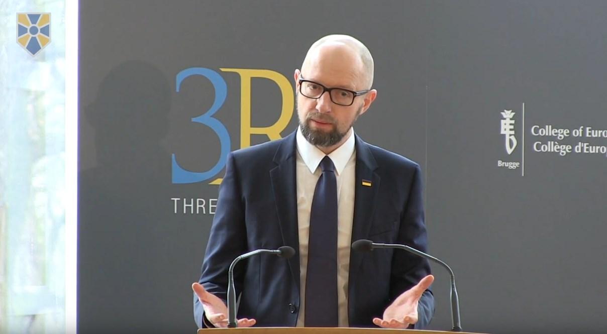 Арсений Яценюк выразил уверенность в том, что никому не удастся расколоть украинско-польское единство.