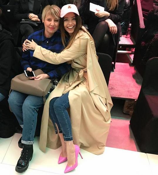 Надя Дорофеева и Ольга Владимировна