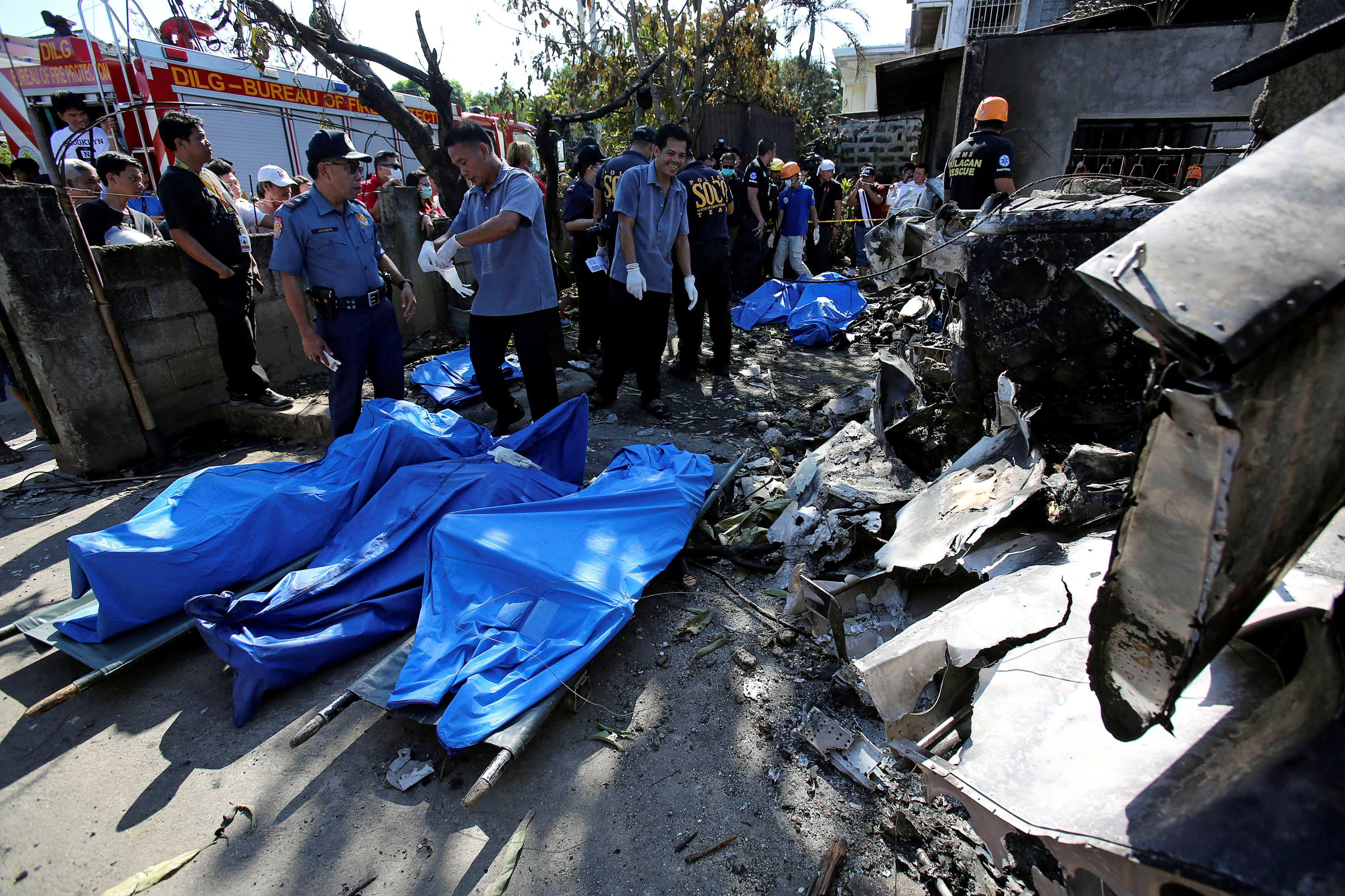 На Филиппинах потерпел крушение легкий самолет