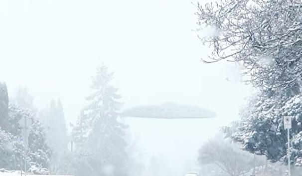 В Сети опубликовали видео с НЛО