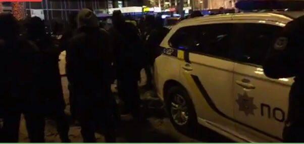 Задержание сторонников Михеила Саакашвили