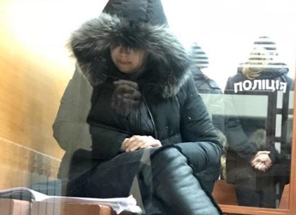 Подозреваемая Алла Домасенко