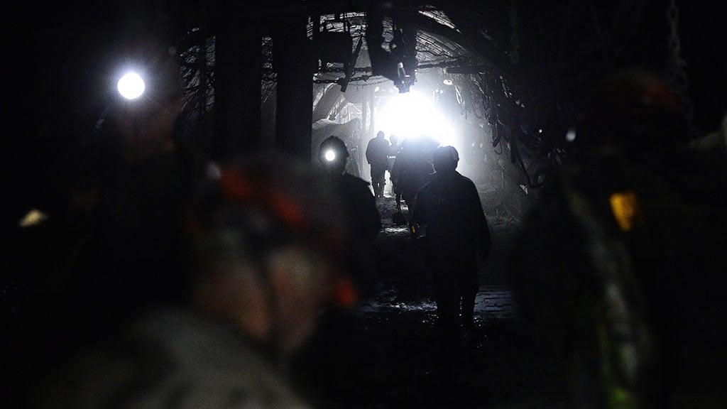 В Торецке на шахте был обвал, погиб горняк