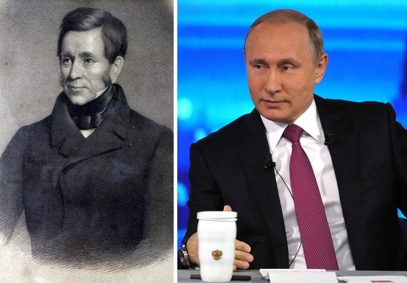 Путин и Бергойн даже внешне похожи, уточнил астролог.