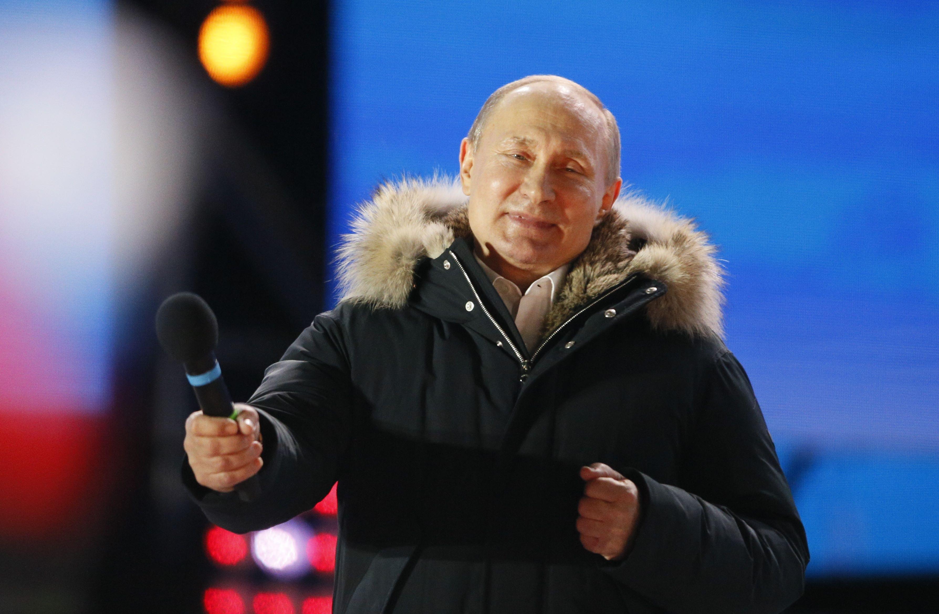 Путин назвал конечную цель власти.