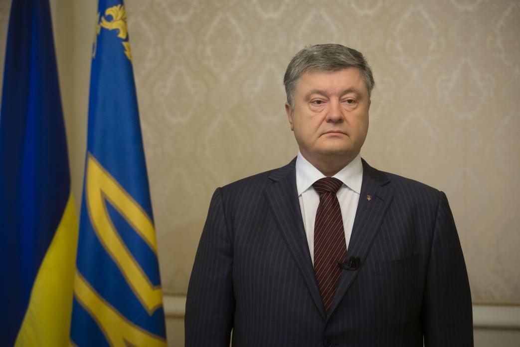 Легитимными президентскими выборами в Крыму могут быть только выборы президента Украины, сказал Петр Порошенко