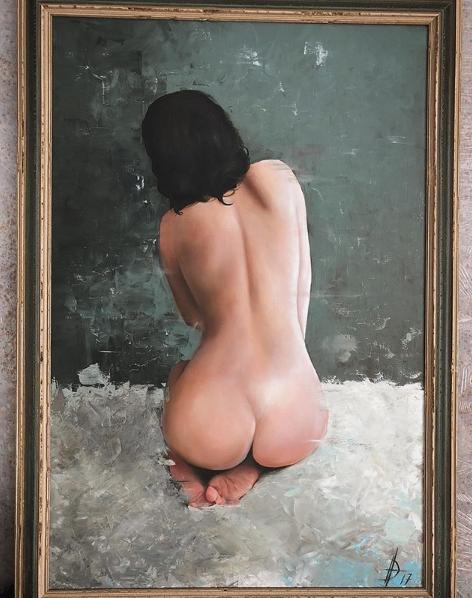 Даша Астафьева показала одну из своих любимых картин