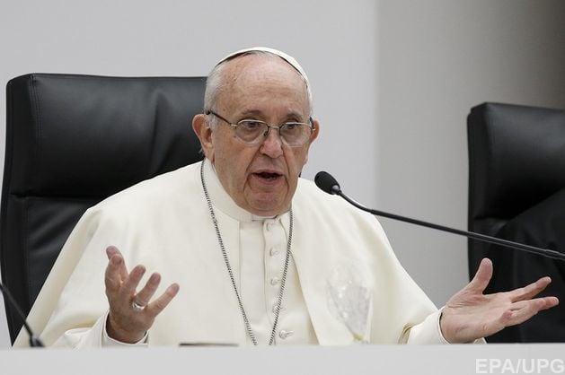 Папа Римский сравнил проституцию с преступлением