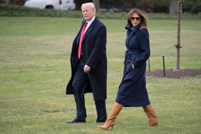 Мелания Трамп является иконой стиля