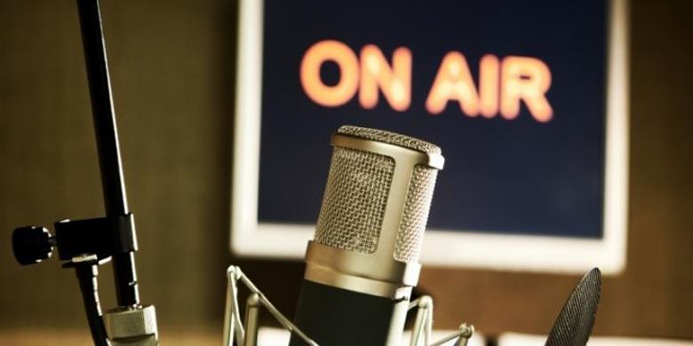 Студия на радиостанции