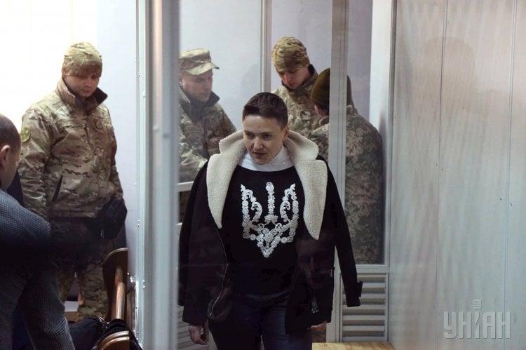 Надежда Савченко снова попала в СИЗО