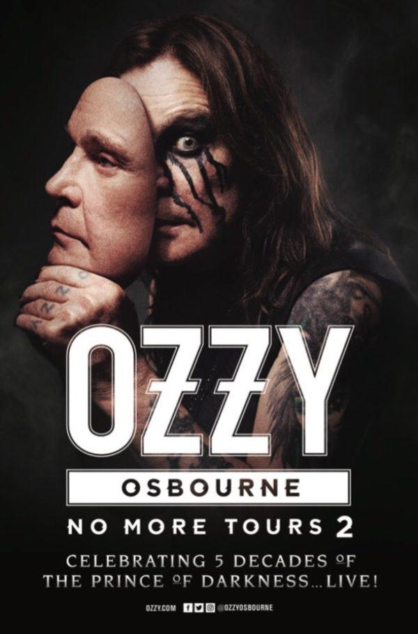 Постер прощального тура Оззи Осборна