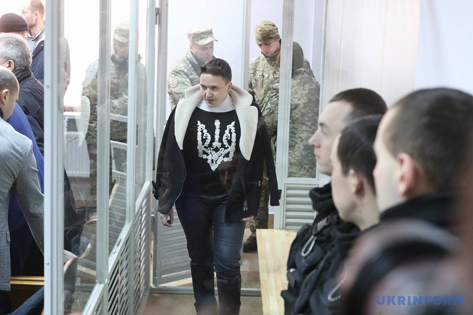 Надежда Савченко утверждала, что не помнит, как снялась в ролике о походе в президенты
