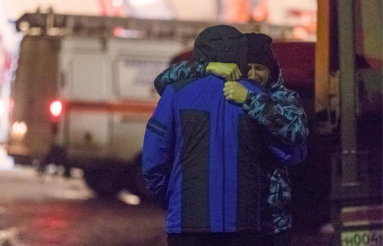 Родственники не могут найти 35 человек, которые находились в торговом центре