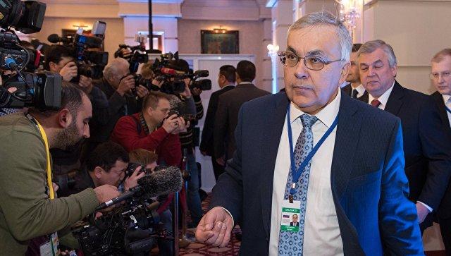 Замглавы иностранных дел РФ назначен Сергей Вершинин.