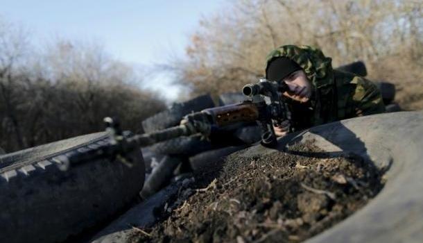 В районе ООС уничтожена снайперская пара боевиков