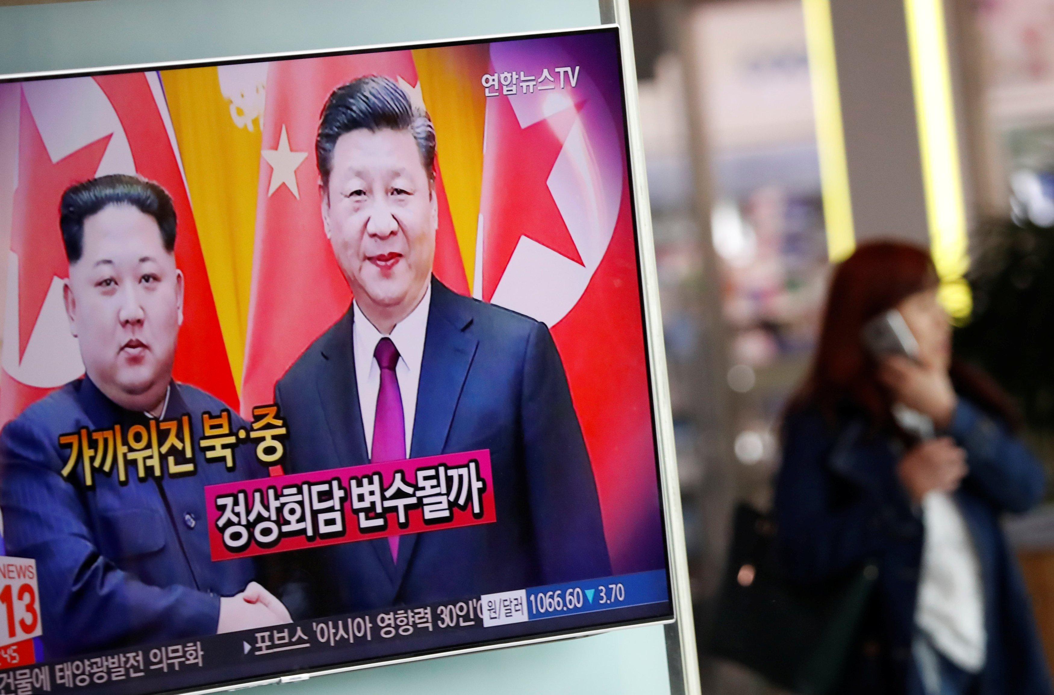 Ким Чен Ын во время встречи с Си Цзиньпином говорил о денуклеаризации Корейского полуострова