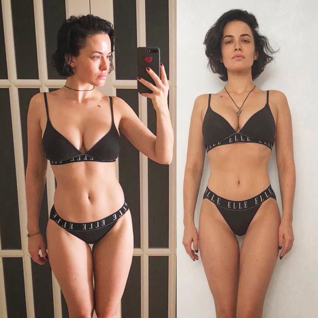 Даша Астафьева заметно похудела