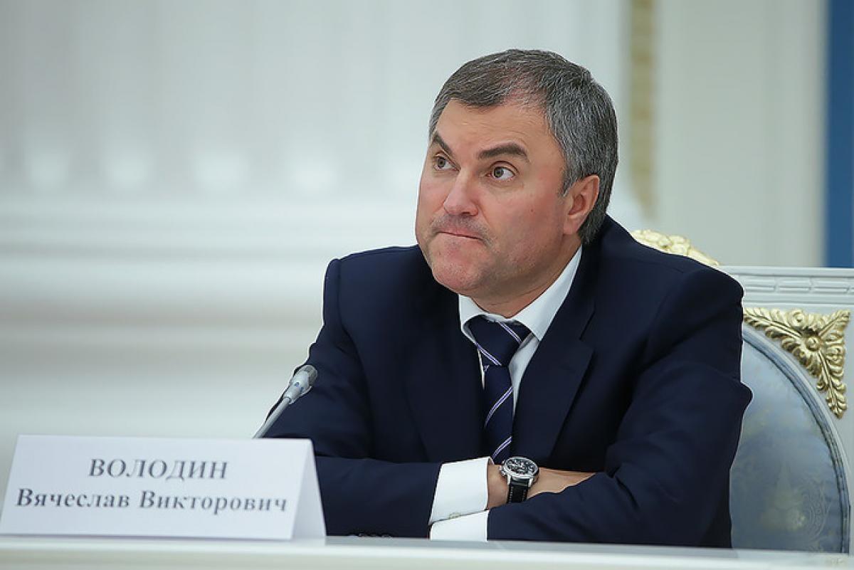 Вячеслав Володин объяснил связь между трагедией в Кемерово и революцией.