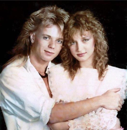 Кристина Орбакайте и Владимир Пресняков на заре их брака и карьеры