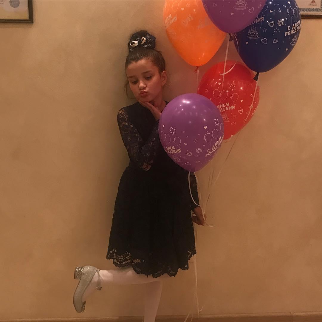 Дочь Приходько отпраздновала 8-летие