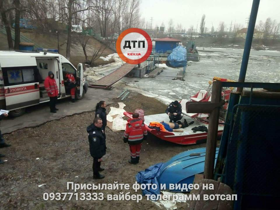 Жуткое самоубийство в Киеве: мужчина бросился с моста в Днепр, фото 18+