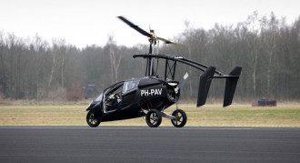 Гибрид автомобиля и вертолета вмещает только 2 человек