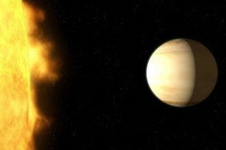 WASP-39b вращается вокруг звезды солнцеподобного типа